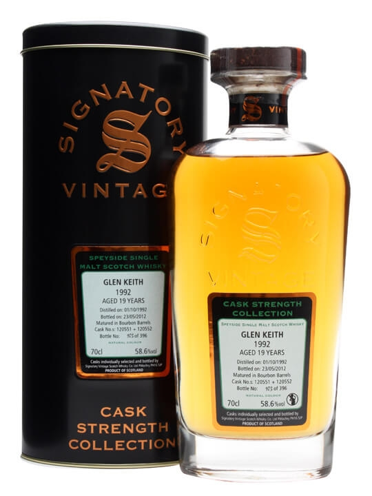 Glen Keith 1992 / 19 Year Old / Bourbon Barrels #120551+2 Speyside Whisky