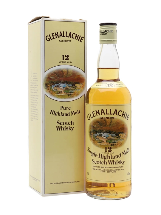 Glenallachie-glenlivet 12 Year Old / Bot.1980s Speyside Whisky