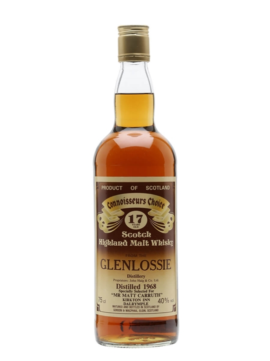 Glenlossie 1968 / 17 Year Old / Connoisseurs Choice Speyside Whisky