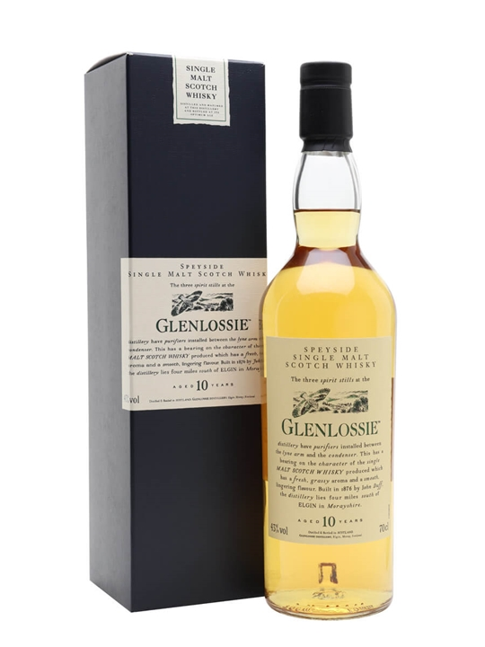Glenlossie 10 Year Old Speyside Single Malt Scotch Whisky