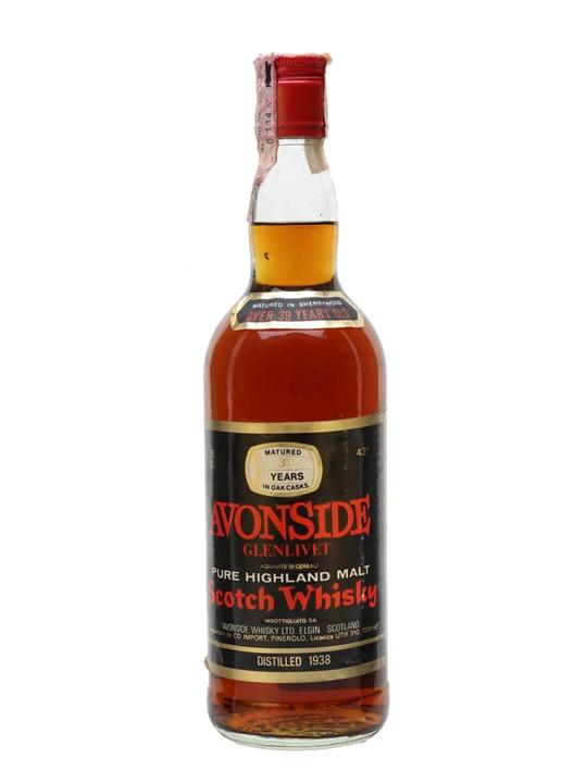 Avonside (glenlivet) 1938 / 39 Year Old / Sherry Cask Speyside Whisky