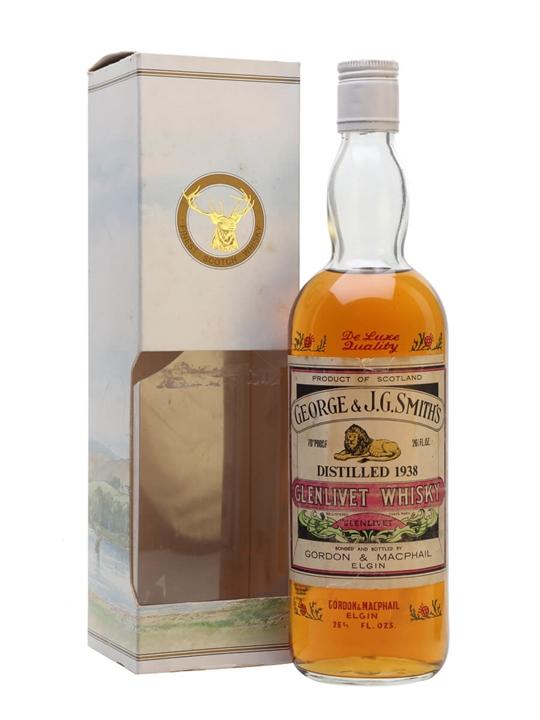 Glenlivet 1938 / Bot.1970s / Gordon & Macphail Speyside Whisky