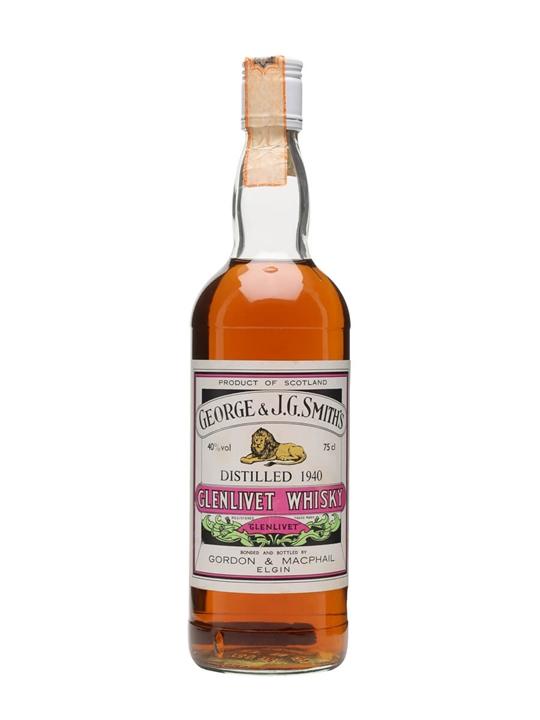 Glenlivet 1940 / Bot.1980s Speyside Single Malt Scotch Whisky