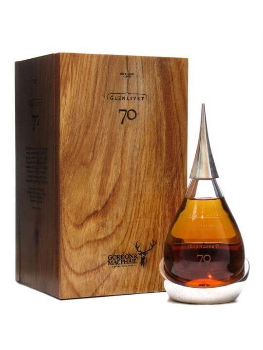 Glenlivet 1940 / 70 Year Old / Crystal Decanter / G&m Speyside Whisky