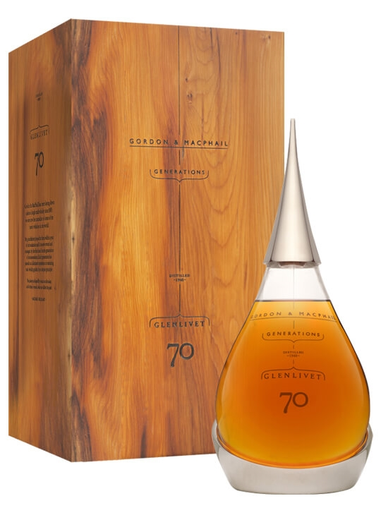 Glenlivet 1940 / 70 Year Old / Tear Decanter / 2nd Edition Speyside Whisky