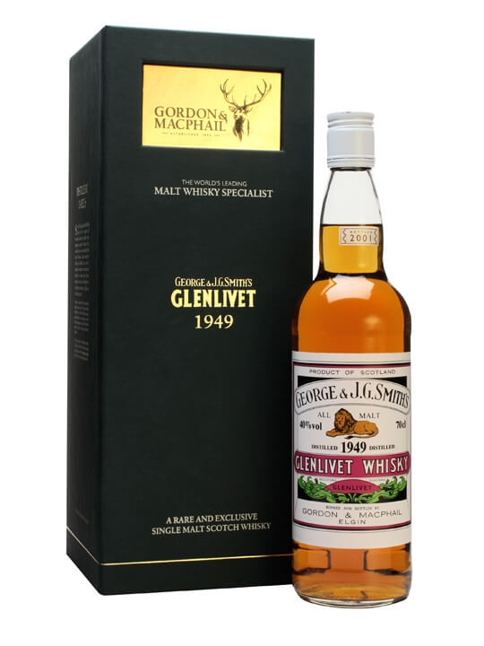 Glenlivet 1949 / Gordon & Macphail Speyside Single Malt Scotch Whisky
