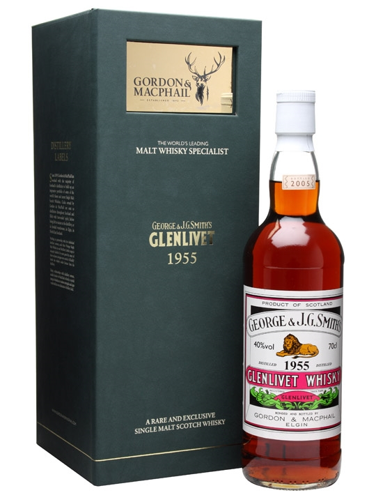 Glenlivet 1955 / Gordon & Macphail Speyside Single Malt Scotch Whisky