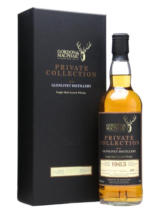 Glenlivet 1963 Private Collection / 47 Year Old / G&m Speyside Whisky