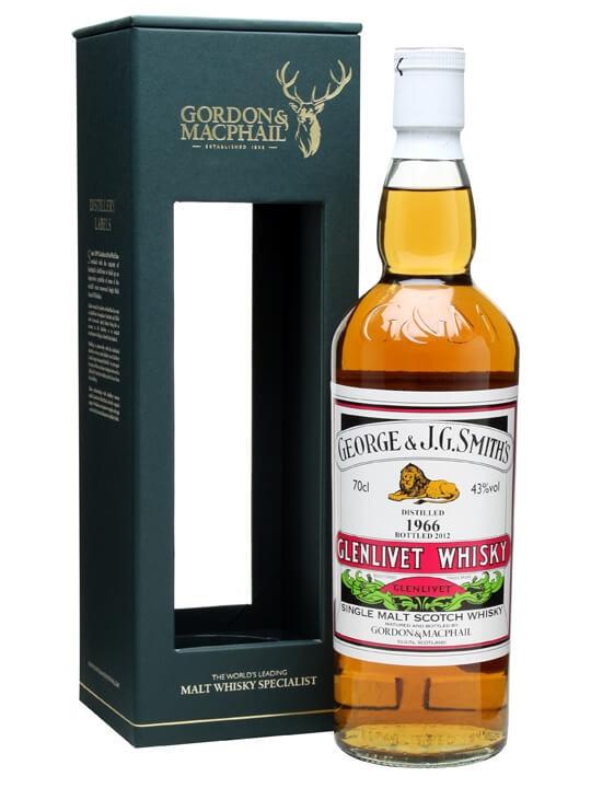 Glenlivet 1966 / Bot.2012 / Gordon & Macphail Speyside Whisky