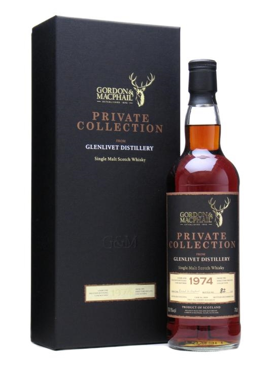 Glenlivet 1974 Private Collection / Sherry Hogshead / G&m Speyside Whisky