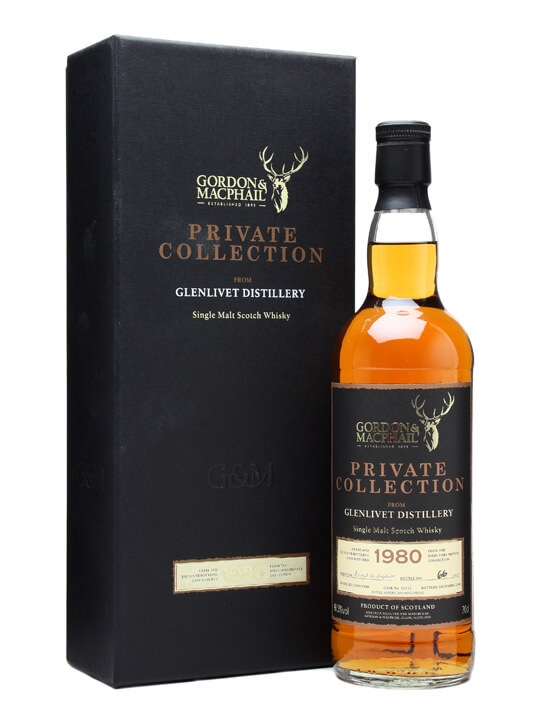 Glenlivet 1980 / Gordon & Macphail's Private Collection Speyside Whisky