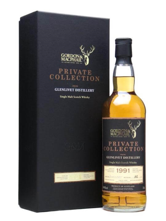Glenlivet 1991 Private Collection / Gordon & Macphail Speyside Whisky