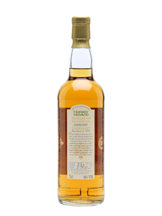 Glenlivet 1972 / 26 Year Old / Sherry Cask #mm1942 Speyside Whisky