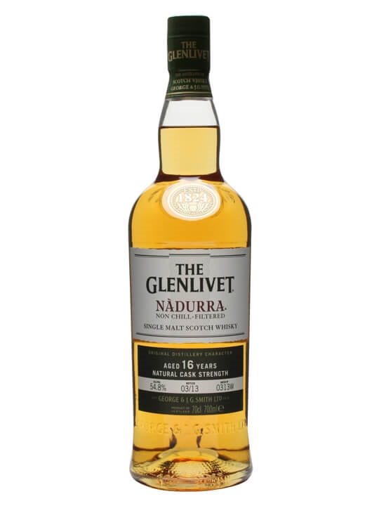 Glenlivet Nadurra / 16 Year Old / Batch 0313w Speyside Whisky