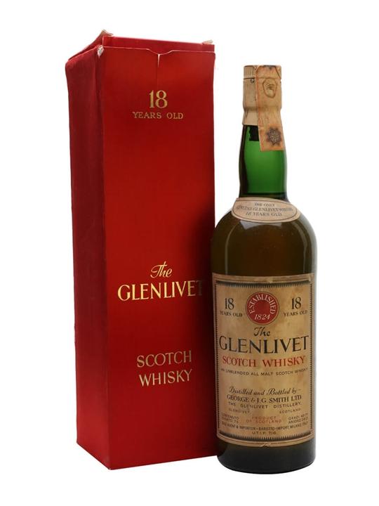 Glenlivet 1951 / 18 Year Old / Baretto Import Speyside Whisky