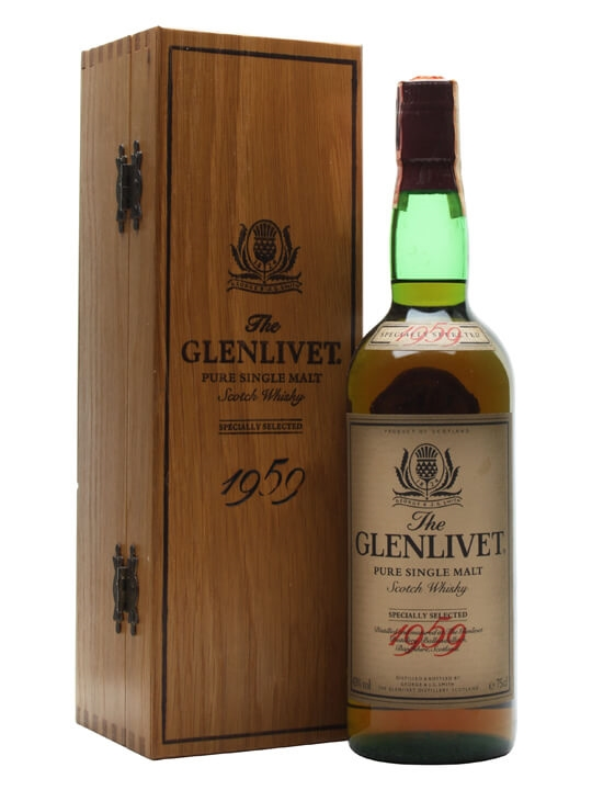 Glenlivet 1959 / Bot.1980s Speyside Single Malt Scotch Whisky