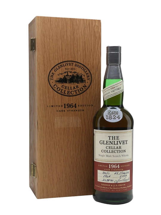 Glenlivet 1964 / 40 Year Old / Cellar Collection Speyside Whisky