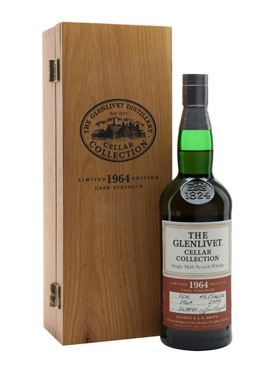 Glenlivet 1964 / Cellar Collection Speyside Single Malt Scotch Whisky