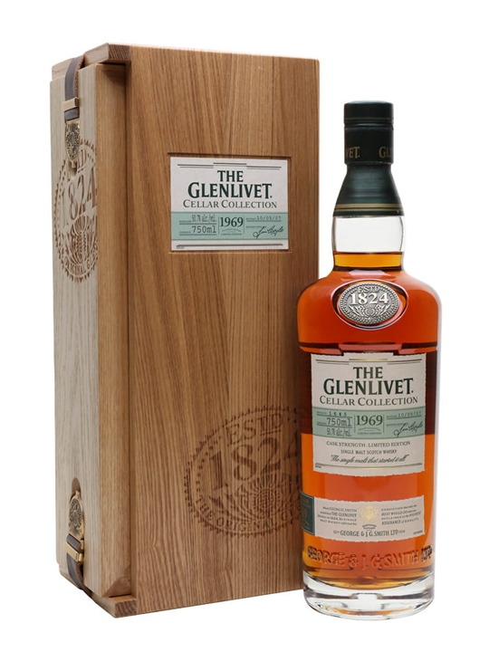 Glenlivet 1969 / Bot.2007 Speyside Single Malt Scotch Whisky