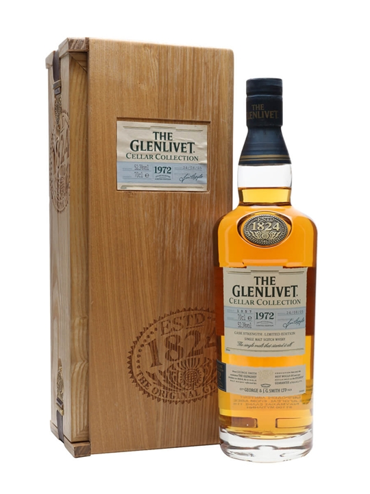 Glenlivet 1972 / Cellar Collection Speyside Single Malt Scotch Whisky