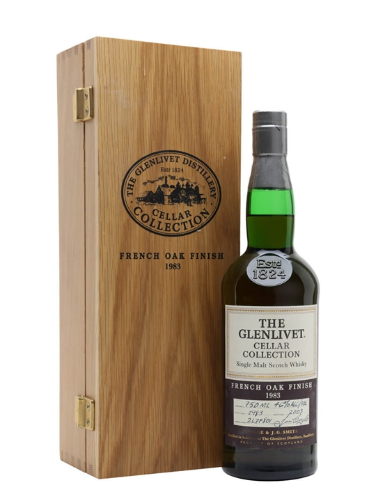 Glenlivet 1983 / French Oak Finish / Cellar Collection Speyside Whisky