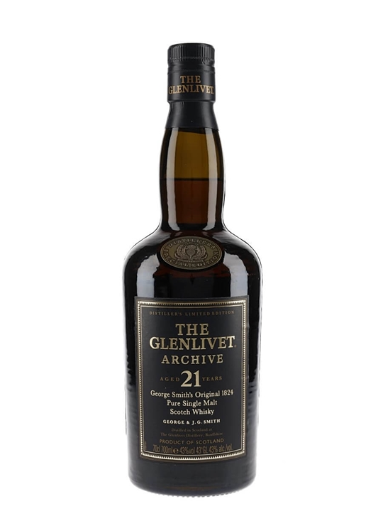 Glenlivet Archive 21 Year Old Speyside Single Malt Scotch Whisky