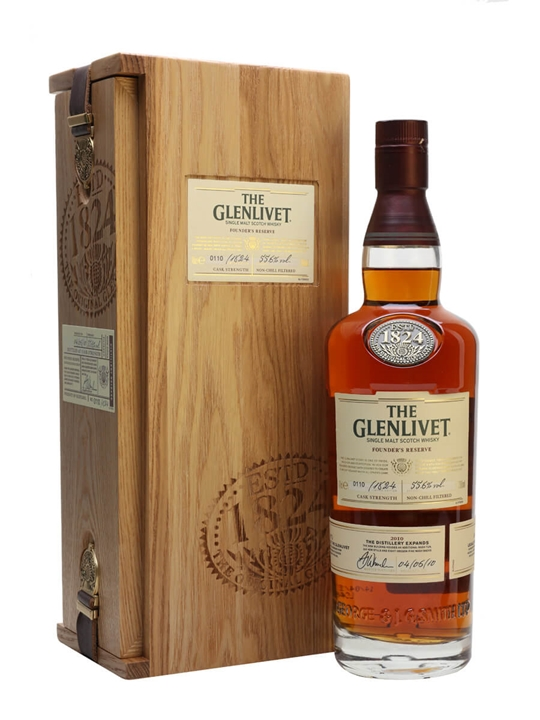 Glenlivet 21 Year Old / Founder's Reserve Speyside Whisky