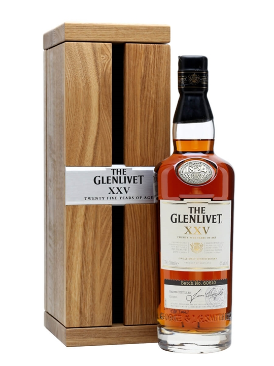 Glenlivet 25 Year Old / Xxv Speyside Single Malt Scotch Whisky