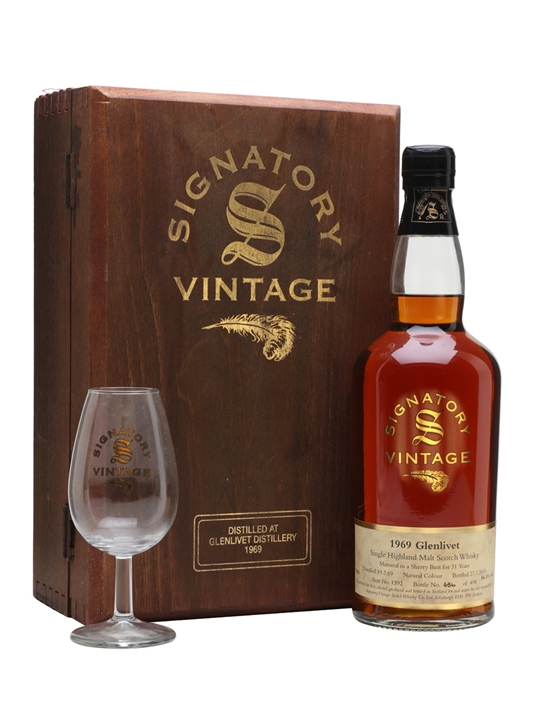 Glenlivet 1969 / 31 Year Old / Sherry Butt #1392 Speyside Whisky