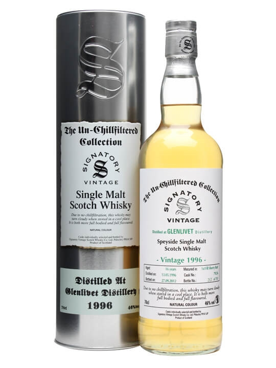Glenlivet 1996 / 16 Year Old / Sherry Butt 79236 / Signatory Speyside Whisky