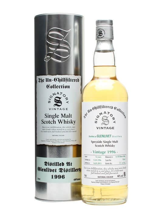 Glenlivet 1996 / 16 Year Old / Sherry Butt 79234 / Signatory Speyside Whisky