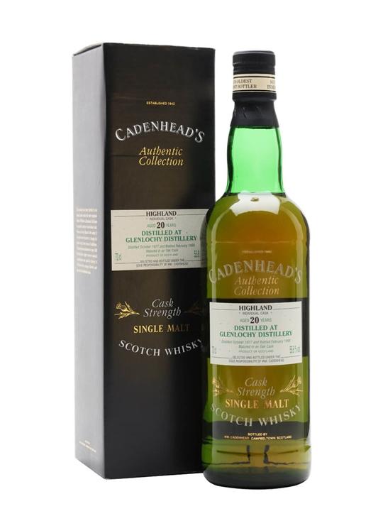 Glenlochy 1977 / 20 Year Old / Cadenhead's Highland Whisky