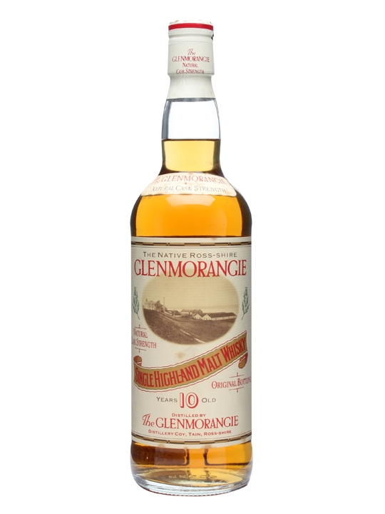 Glenmorangie Cask Strength 10 Year Old Highland Whisky