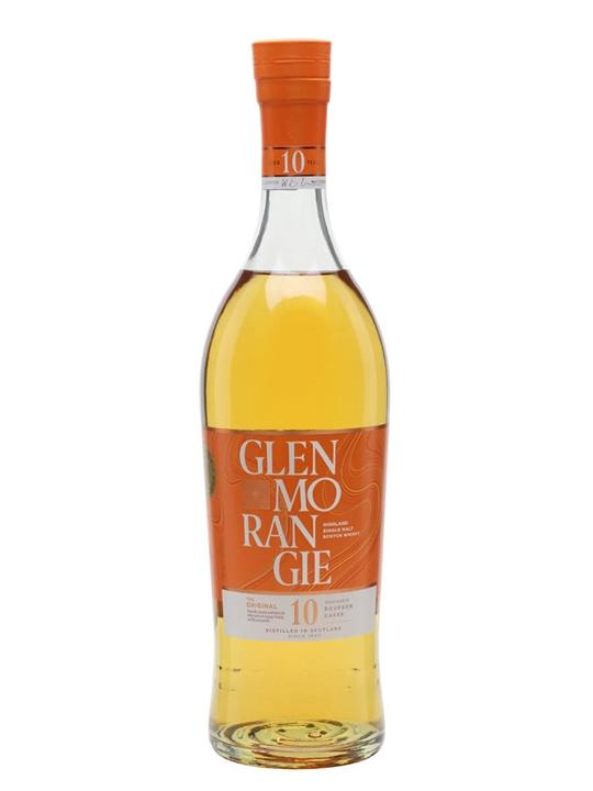 Glenmorangie 10 Year Old + Free Quinta Ruban Miniature Highland Whisky