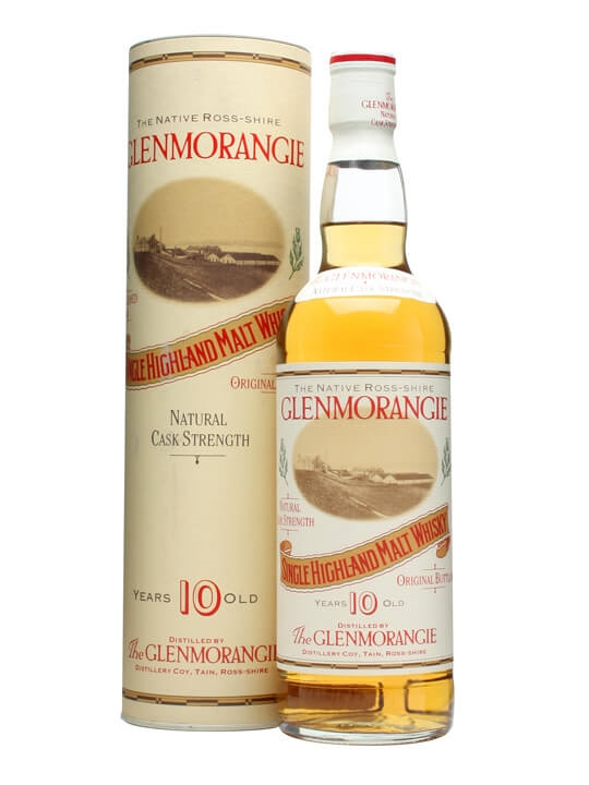 Glenmorangie Cask Strength 10 Year Old / Bot.1992 Highland Whisky