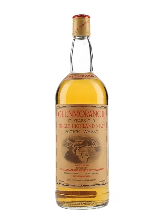 Glenmorangie 10 Year Old / Bot.1970s Highland Whisky
