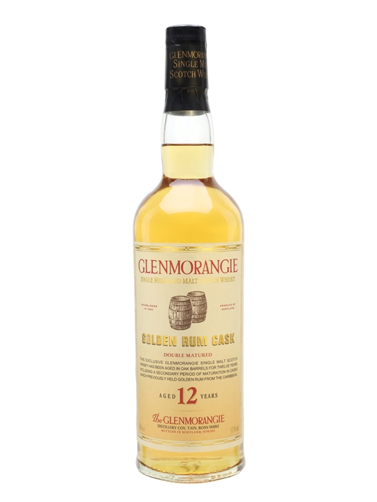 Glenmorangie 12 Year Old / Golden Rum Cask Highland Whisky