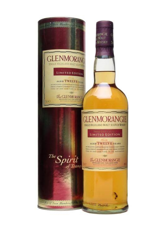 Glenmorangie 12 Year Old / Three Wood Highland Whisky