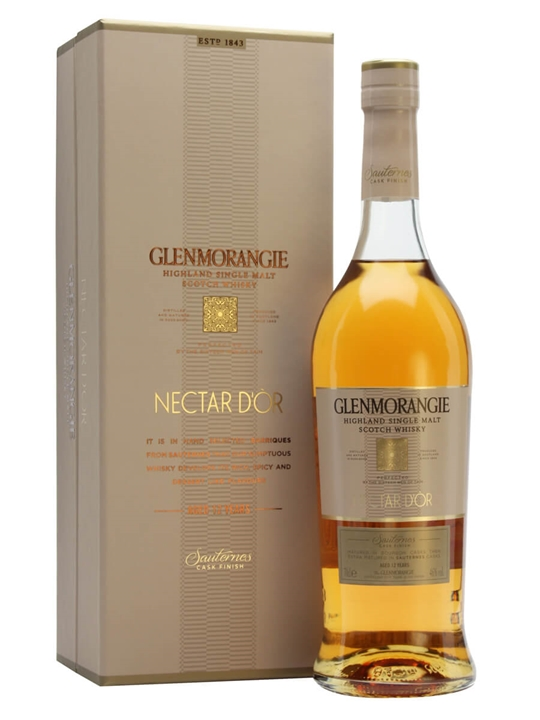Glenmorangie 12 Year Old / Nectar D'or / Sauternes Finish Highland Whisky
