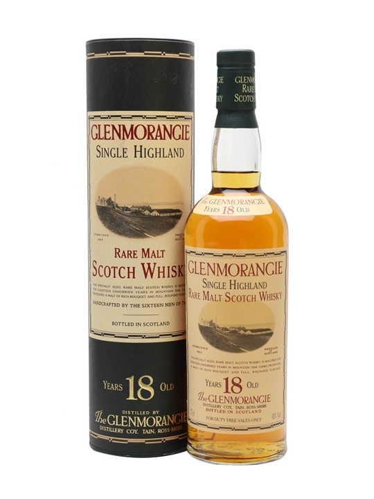 Glenmorangie 18 Year Old / Bot.1980s Highland Whisky