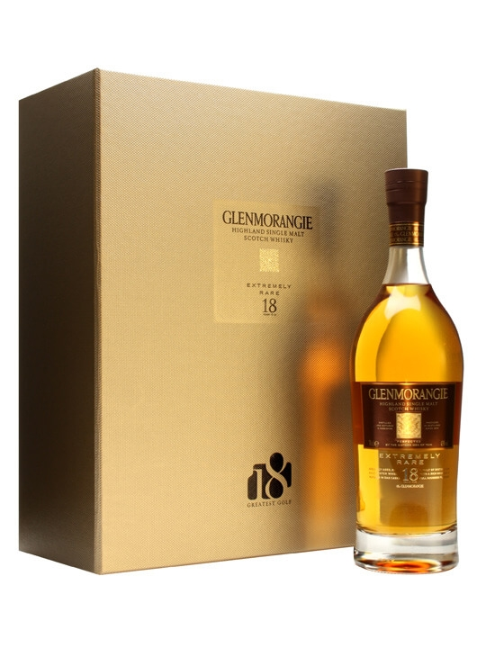 Glenmorangie 18 Year Old & Greatest Scots Golf Holes Book Highland Whisky