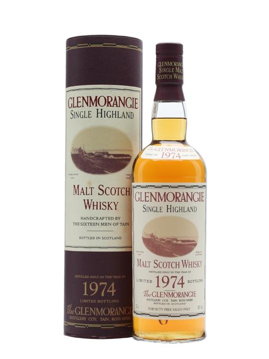 Glenmorangie 1974 / Bot.1996 Highland Single Malt Scotch Whisky