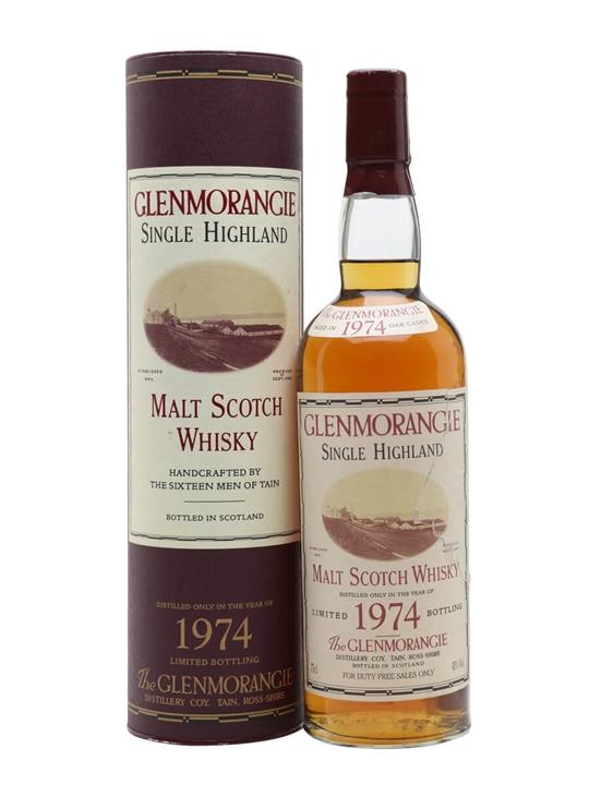 Glenmorangie 1974 / Bot.2000 Highland Single Malt Scotch Whisky