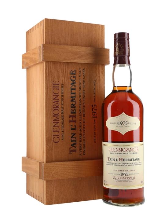 Glenmorangie 1975 / 28 Year Old / Tain L'hermitage Highland Whisky