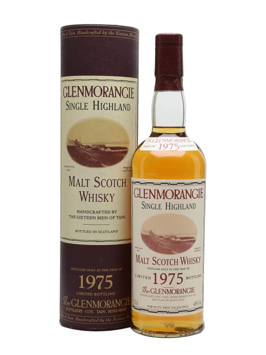 Glenmorangie 1975 / Bot.2004 Highland Single Malt Scotch Whisky