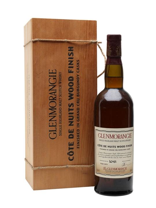 Glenmorangie 1975 Cote De Nuits / 25 Year Old Highland Whisky