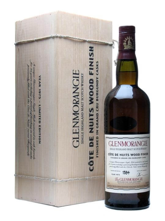 Glenmorangie 1975 / 25 Year Old / Cotes De Nuits Highland Whisky