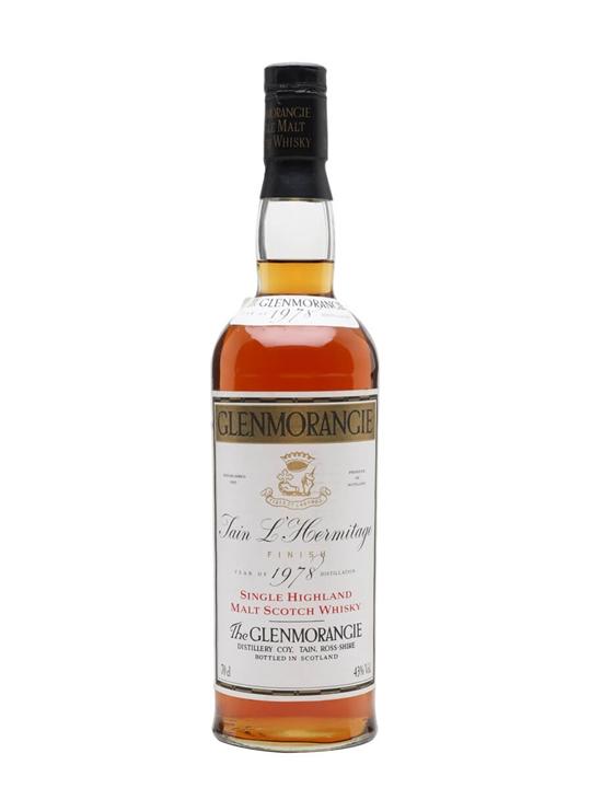 Glenmorangie 1978 / Tain L' Hermitage Finish Highland Whisky