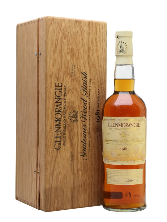 Glenmorangie 1981 / Sauternes Wood Finish Highland Whisky