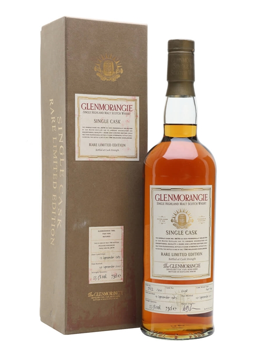 Glenmorangie 1989 / 15 Year Old / Port Pipe Highland Whisky